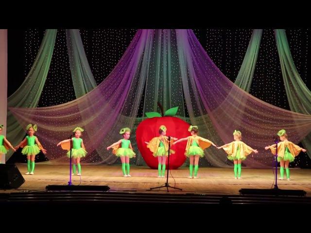 Веселый детский танец Жить здорово (танец гусениц) д/с 104, г. Рыбинск