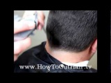 Men's Haircutting Techniques - Learn How To Cut Men's Hair With Clippers and Scissors