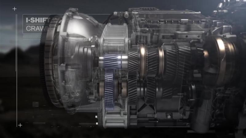 АКПП Volvo I Shift с понижающими передачами принцип работы