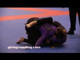 PURPLE BELTS  IBJJF NO-GI PAN NY 09.29.17 NY  Girls Grappling  Women Wrestling BJJ  Female Fight