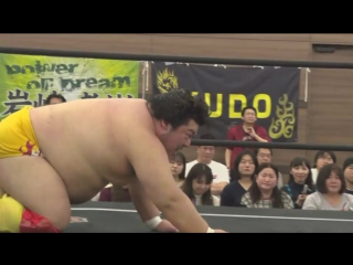 Ken Ohka vs. Gota Ihashi (DDT - Dramatic Nerima the Fighter 2018)