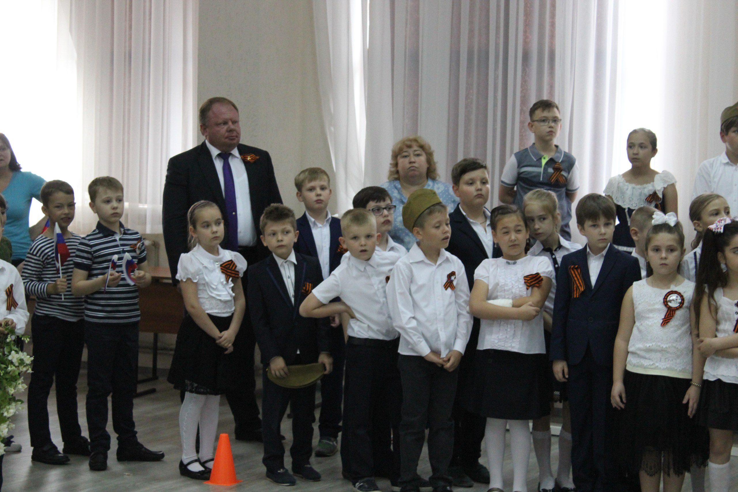 День Победы в нашей школе