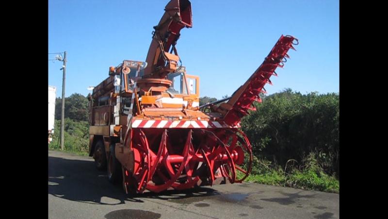 Проверка работы снегоуборочного шнекоротора НИИГАТА N654