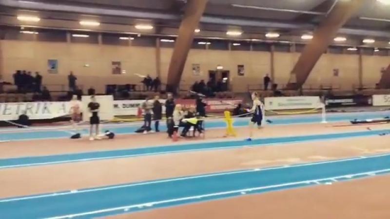 5,46m Норвежский юношеский рекорд Pål Lillefosse