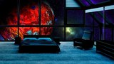 8 Hours of Outer Space Sleeping or Meditation with Spaceship White Noise and Planets Flying By