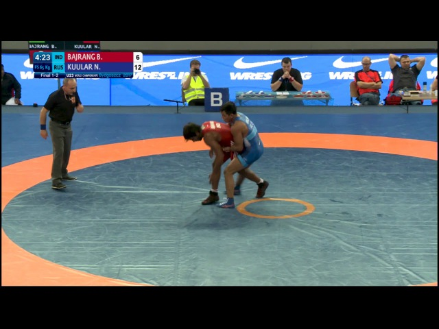 Big Move From Day 6 Of The U23 World C'ships !