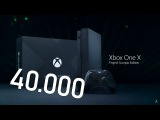 Xbox One X Project Scorpio Edition – консоль за 40000 рублей