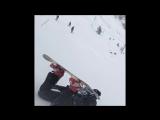Когда первый раз катаешься на сноуборде