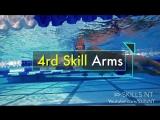 5 упражнений для изучения основ плавания на спине