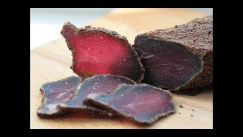 Бастурма Дедовский Рецепт. Вяленое Мясо Говядины в Домашних Условиях