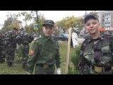 Сокольские кадеты помогли высадить кедровую аллею в честь Дня финансиста