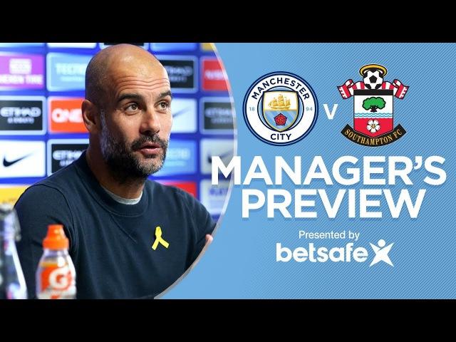 THE GUY WHO WINS, SMELLS GOOD | Man City v Southampton | Press Conference
