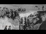 Ukraine 1943 ▶ Stalino Donetsk - Mass Grave Exhumation by Gebirgsjäger German Mountain Troops POW