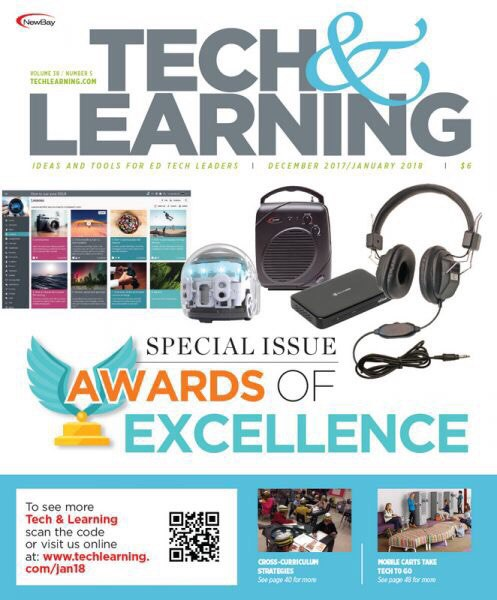 Tech & Learning — December 2017-January 2018