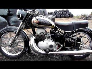 Мотоцикл TRIUMPH⁄TWN Boss 350cc, 1954 года