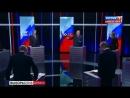 """Скандал в прямом эфире! Собчак облила Жириновского водой за фразу """"Заткнись, дура тупая!"""""""