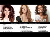 Mariah Carey, Celine Dion, Whitney Houston Greatest Hits - Best Songs of World Divas