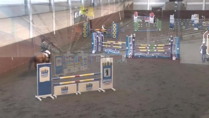 Алёна Афонина на Рапсодии(110 см) 3 место