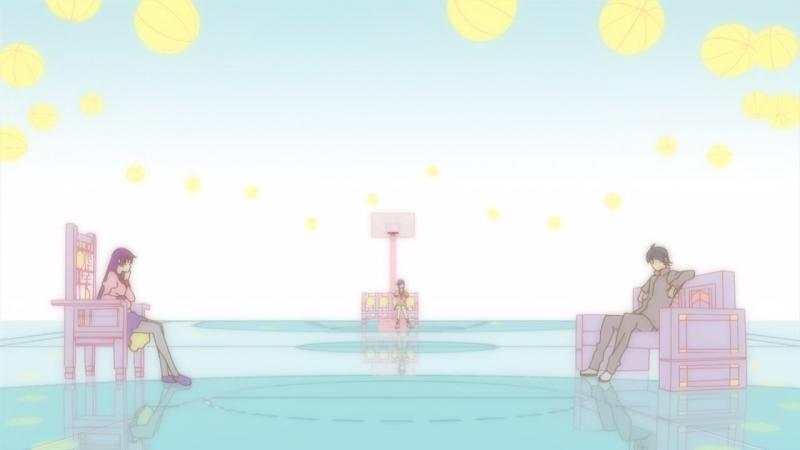 Sawashiro Miyuki (CV Kanbaru Suruga) - Ambivalent World (Bakemonogatari OP3)