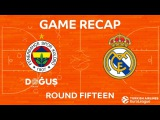 Highlights: Fenerbahce Dogus Istanbul - Real Madrid. Евролига. Обзор. Фенербахче - Реал