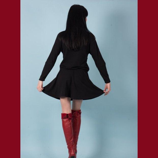 Платье трикотажное Лола