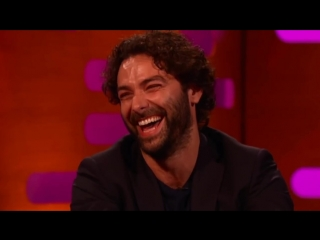 The graham norton show 6_1_18_ ethan hawke, toni collette, aidan turner, jo bran