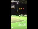 Roger Federer Rotterdam 2018