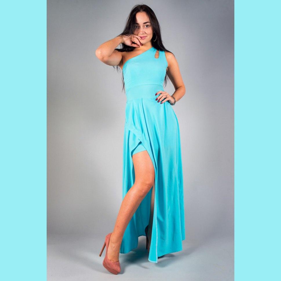 Платье трикотажное Лилит
