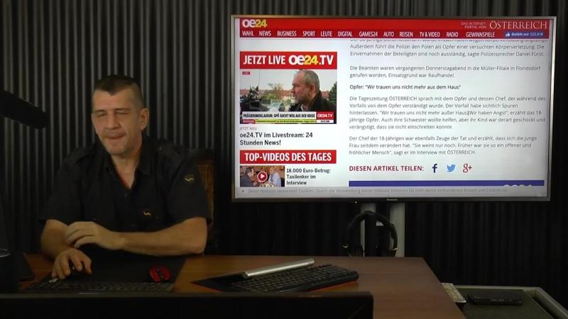 Massive Attacke in Wien Kaufhausdetektiv versohlt Austro Türkin ^Das sagt Müller Geschäftsleitung^