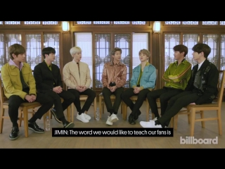 180222 BTS Teaches Fans How to Say Popular Korean Phrases @ Billboard