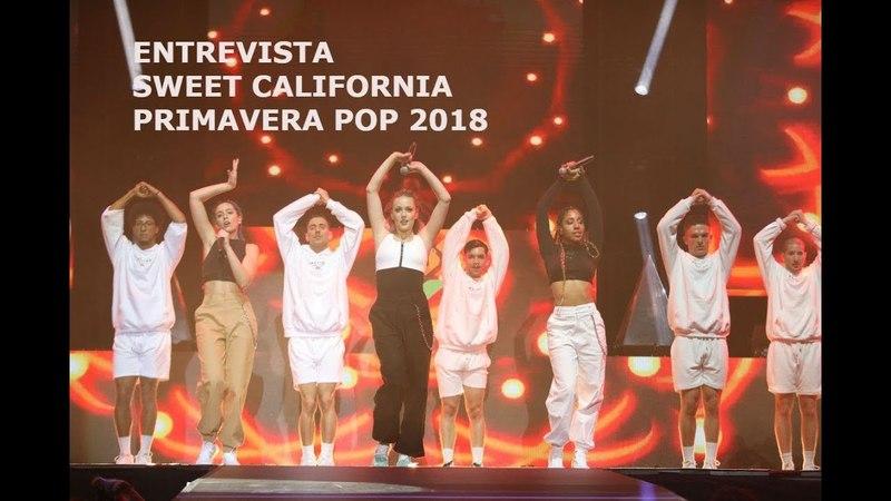 SWEET CALIFORNIA ESTAMOS DESEANDO QUE AITANA CANTE ARDE CON NOSOTRAS PRIMAVERA POP 2018