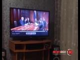 Медвед Медведев - ведущая первого канала отожгла