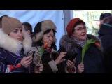 «Песни для любимых». На Московском вокзале песнями 80-х и 90-х поздравляли женщин. ФАН-ТВ