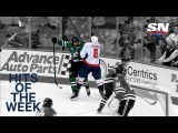 Hits of the Week:  Ovechkin throws his weight around