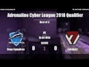 Adrenaline Cyber League 2018 Qualifier ll Vega Squadron vs AVANGAR