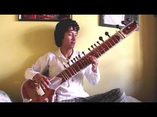 Paint it black (The Rolling Stones) - One-man band complete with Sitar cover