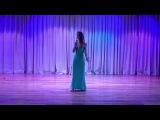 София Шенигина - Je taime ( Lara Fabian ) Международная Академия Музыки им. Е. Образцовой