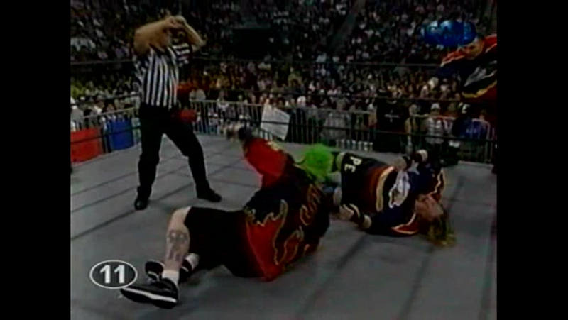 Титаны реслинга на ТНТ и СТС WCW Nitro August 16 1999