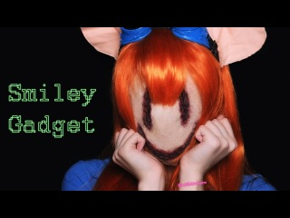 УЛЫБАЮЩАЯСЯ ГАЕЧКА | SMILEY GADGET HACKWRENCH MAKEUP TUTORIAL