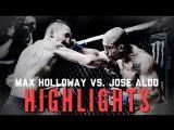 Jose Aldo vs. Max Holloway 2 ● Fight Highlights ● HD