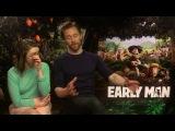 Early Man    Tom Hiddleston & Maisie Williams Generic Interview    SocialNews.XYZ