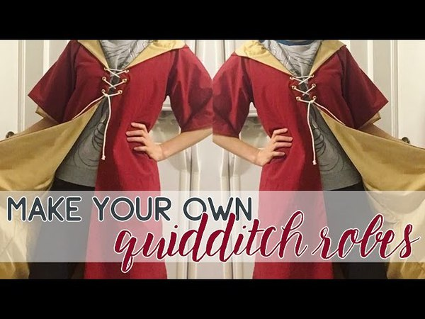 Make Your Own Quidditch Robes