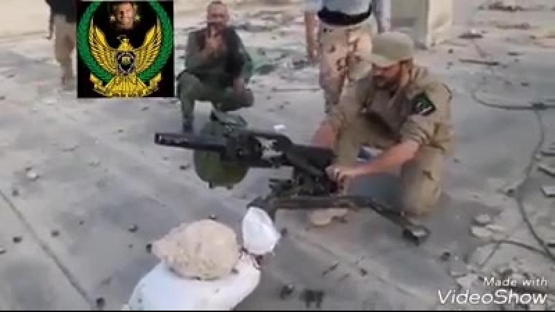 Война в Сирии. САА ведет огонь по позициям террористов