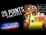 Donovan Mitchell Full Highlights 2018 WCSF Game 4 Rockets vs Utah Jazz - 25-9-4! FreeDawkins