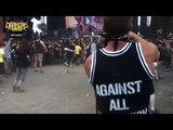 Hardcore dancing to