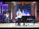 Шедевр! Андрей Рязанцев играет на рояле и кларнете, Алексей Ягудин катается/ Синяя птица. Финал