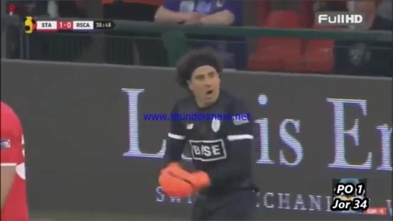 Guillermo Ochoa Atajadas Parades Saves Standard Liege vs RSC Anderlecht