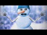 Как нарисовать снеговика в фотошопе
