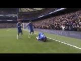Demba Ba scored this goal for CFC vs Man Utd