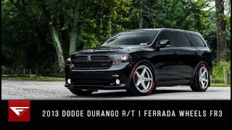 2013 Dodge Durango R T Ferrada Wheels FR3